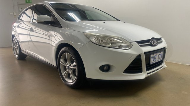Used Ford Focus LW MK2 MY14 Trend Phillip, 2014 Ford Focus LW MK2 MY14 Trend White 6 Speed Automatic Hatchback