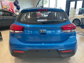 2021 Kia Rio YB MY21 S Sporty Blue 6 Speed Automatic Hatchback