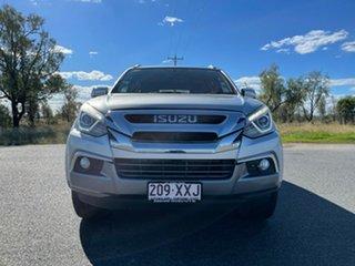 2018 Isuzu MU-X MY17 LS-T Rev-Tronic Titanium Silver 6 Speed Sports Automatic Wagon