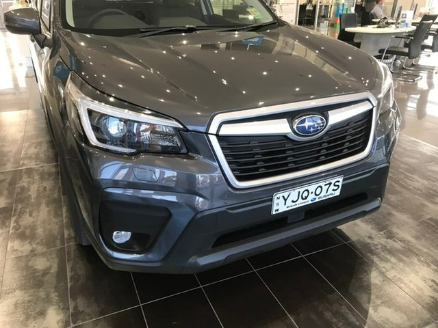 Demo Subaru Forester S5 MY21 2.5i CVT AWD Liverpool, 2021 Subaru Forester S5 MY21 2.5i CVT AWD Magnetite Grey 7 Speed Constant Variable Wagon