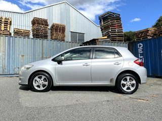 2010 Toyota Corolla ZRE152R MY10 Conquest Silver 4 Speed Automatic Hatchback