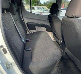 2011 Mitsubishi Triton MN MY12 GLX-R Double Cab White 5 Speed Sports Automatic Utility