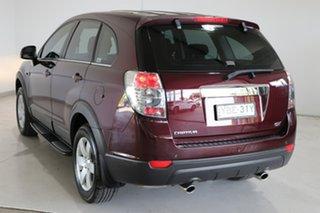 2013 Holden Captiva CG Series II MY12 7 SX Maroon 6 Speed Sports Automatic Wagon.