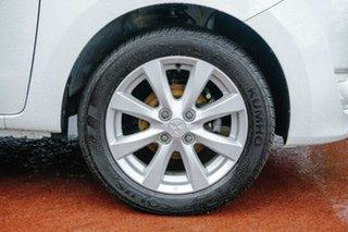 2016 Mitsubishi Mirage LA MY15 LS White 1 Speed Constant Variable Hatchback