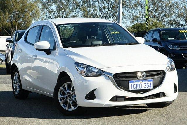 Used Mazda 2 DJ2HAA Maxx SKYACTIV-Drive Clarkson, 2019 Mazda 2 DJ2HAA Maxx SKYACTIV-Drive White 6 Speed Sports Automatic Hatchback