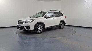2019 Subaru Forester MY19 2.5I-L (AWD) White Continuous Variable Wagon.