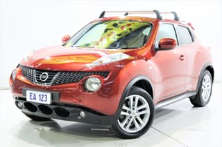 2014 Nissan Juke F15 TI-S (AWD) Red Continuous Variable Wagon.