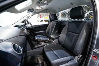 2017 Mazda BT-50 UR0YE1 XT 4x2 Hi-Rider Grey 6 Speed Sports Automatic Cab Chassis