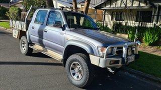 1999 Toyota Hilux KZN165R SR5 (4x4) Blue 5 Speed Manual 4x4 Pickup.