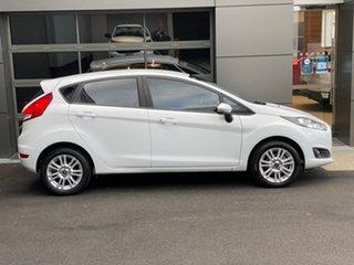 2017 Ford Fiesta WZ Trend White 5 Speed Manual Hatchback.