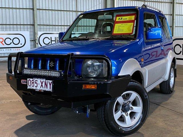 Used Suzuki Jimny SN413 T6 JLX Rocklea, 2007 Suzuki Jimny SN413 T6 JLX Blue 5 Speed Manual Hardtop