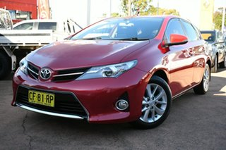 2015 Toyota Corolla ZRE182R Ascent Sport Red 6 Speed Manual Hatchback.