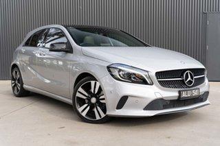 2015 Mercedes-Benz A-Class W176 806MY A200 d DCT Silver 7 Speed Sports Automatic Dual Clutch.