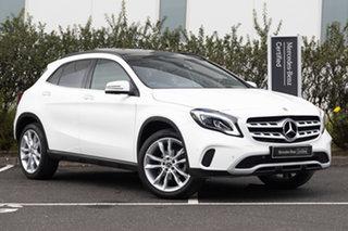 2019 Mercedes-Benz GLA-Class X156 809+059MY GLA180 DCT Urban Edition Polar White 7 Speed.