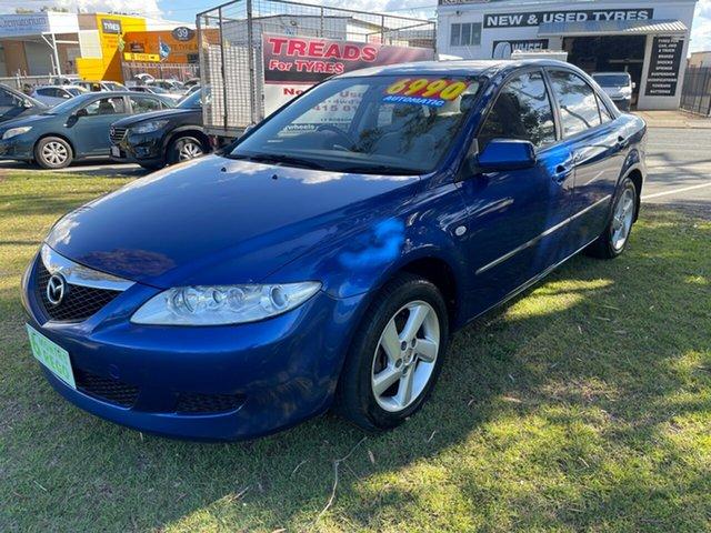 Used Mazda 6 GG1031 MY04 Limited Clontarf, 2004 Mazda 6 GG1031 MY04 Limited Blue 4 Speed Sports Automatic Sedan