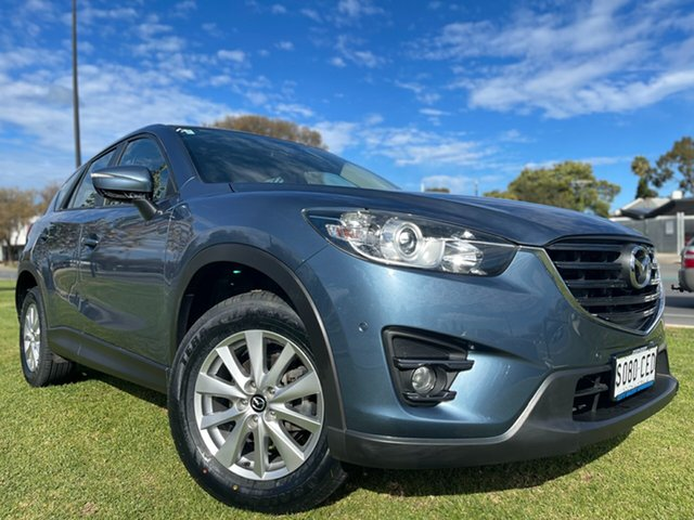 Used Mazda CX-5 KE1072 Maxx SKYACTIV-Drive Sport Hindmarsh, 2016 Mazda CX-5 KE1072 Maxx SKYACTIV-Drive Sport Blue Reflex 6 Speed Sports Automatic Wagon