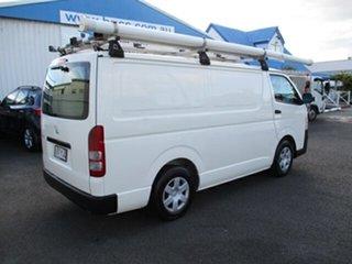 2013 Toyota HiAce LWB White 4 Speed Automatic Van.