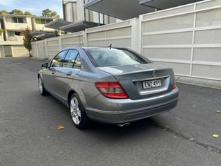 2009 Mercedes-Benz C-Class W204 C220 CDI Avantgarde Special Edition Grey 5 Speed Sports Automatic