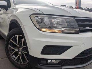 2018 Volkswagen Tiguan 5N MY18 110TSI DSG 2WD Comfortline White 6 Speed Sports Automatic Dual Clutch.