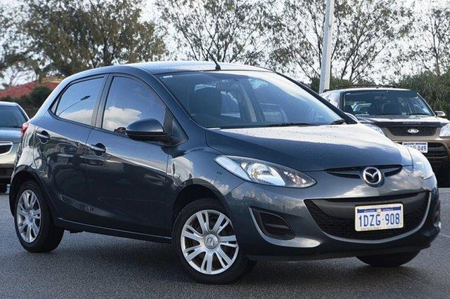Used Mazda 2 DE10Y2 MY12 Neo Clarkson, 2012 Mazda 2 DE10Y2 MY12 Neo Grey 4 Speed Automatic Hatchback