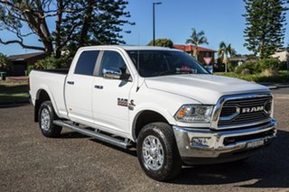 2018 Ram 2500 MY18 Laramie Crew Cab Short Box White 6 Speed Automatic Utility.