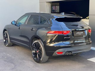 2020 Jaguar F-PACE X761 MY20 Chequered Flag Black 8 Speed Sports Automatic Wagon.