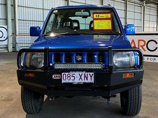 2007 Suzuki Jimny SN413 T6 JLX Blue 5 Speed Manual Hardtop