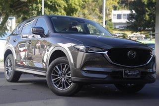 2021 Mazda CX-5 KF2W7A Maxx SKYACTIV-Drive FWD Sport Titanium Flash 6 Speed Sports Automatic Wagon.