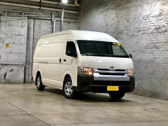 Used Toyota HiAce KDH221R High Roof Super LWB Mile End South, 2018 Toyota HiAce KDH221R High Roof Super LWB White 4 Speed Automatic Van