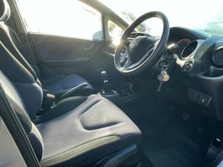 2011 Honda Jazz GE MY11 GLi Silver 5 Speed Manual Hatchback.