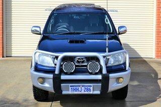 2009 Toyota Hilux KUN26R MY10 SR5 Blue 4 Speed Automatic Utility.