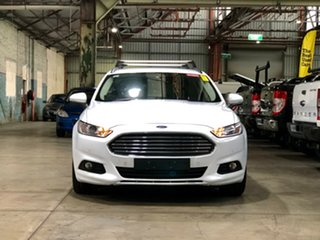 2015 Ford Mondeo MD Ambiente White 6 Speed Sports Automatic Dual Clutch Wagon.