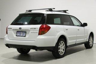 2006 Subaru Outback MY06 2.5i AWD White 5 Speed Manual Wagon