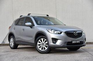 2014 Mazda CX-5 KE1071 MY14 Maxx SKYACTIV-Drive Sport Silver 6 Speed Sports Automatic Wagon.