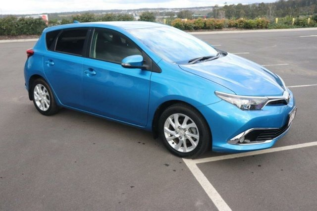 Used Toyota Corolla ZRE182R Ascent Sport S-CVT Augustine Heights, 2017 Toyota Corolla ZRE182R Ascent Sport S-CVT Blue 7 Speed Constant Variable Hatchback