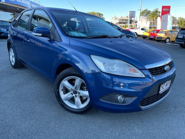 Used Ford Focus LT LX Gympie, 2009 Ford Focus LT LX Blue 4 Speed Sports Automatic Hatchback