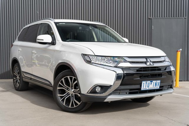Used Mitsubishi Outlander ZL MY18.5 LS AWD Mornington, 2018 Mitsubishi Outlander ZL MY18.5 LS AWD White 6 Speed Constant Variable Wagon