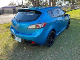 2009 Mazda 3 BK10F2 MY08 Maxx Sport Blue 4 Speed Sports Automatic Hatchback