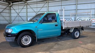 2000 Holden Rodeo TF R9 DX 4x2 Green 5 Speed Manual Cab Chassis.