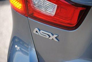 2015 Mitsubishi ASX XB MY15 LS 2WD Grey 6 Speed Constant Variable Wagon.