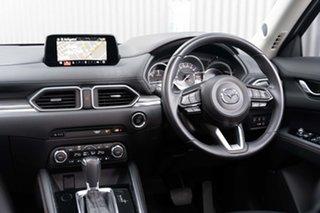 2017 Mazda CX-5 KF4W2A Akera SKYACTIV-Drive i-ACTIV AWD Deep Crystal Blue 6 Speed Sports Automatic