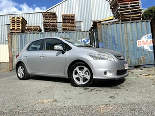 2010 Toyota Corolla ZRE152R MY10 Conquest Silver 4 Speed Automatic Hatchback.