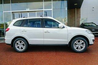 2010 Hyundai Santa Fe CM MY10 Highlander White 6 Speed Sports Automatic Wagon.