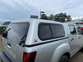 2014 Isuzu D-MAX MY15 SX 4x2 High Ride Silver 5 Speed Sports Automatic Cab Chassis