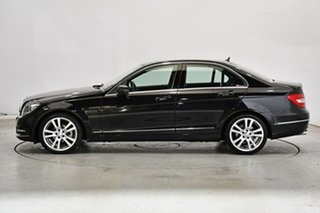 2013 Mercedes-Benz C-Class W204 MY13 C250 7G-Tronic + Elegance Black 7 Speed Sports Automatic Sedan.