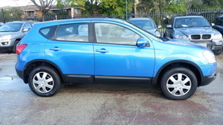 2008 Nissan Dualis J10 ST X-tronic AWD Blue 6 Speed Constant Variable Hatchback
