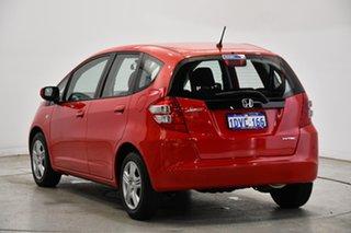2010 Honda Jazz GE MY10 VTi Red 5 Speed Automatic Hatchback