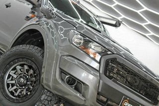 2017 Ford Ranger PX MkII MY18 XL 3.2 (4x4) Grey 6 Speed Automatic Crew Cab Utility.