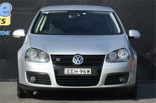 2008 Volkswagen Golf V MY08 GT DSG Sport Silver 6 Speed Sports Automatic Dual Clutch Hatchback.
