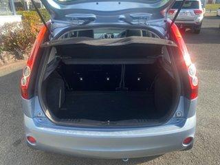 2007 Ford Fiesta WQ LX Blue 4 Speed Automatic Hatchback